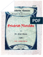 Paul Ernst 1904 Friedrich Nietzsche