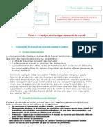 Leçon 1 - l'Analyse Néo-classique Du Marché Du Travail