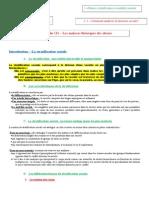 Leçon 1 - Les analyses théoriques des classes.doc