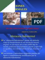 Cap Vii Alteraciones Hidrotermales