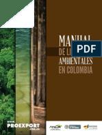 Manual De Licencias Ambientales en Colombia