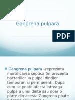 Gangrena pulpara endodontie