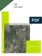 Etude sur la sécurisation du secteur aggloméré de Croissant-Bouillet