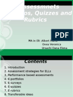 E assessments