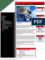 - Rfid Technology (Radio Frequency Identification)