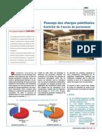 ED 90 Passage Charges Palettisées