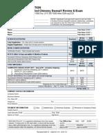2015 Registration form CCS review/exam