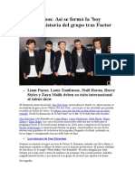 One Direction Historia&Biografia