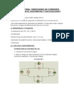 Informe Final Mediciones de Corriente Alterna Con El Voltimetro y Osciloscopio