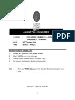 TEST 1- Jan 2013 UTP