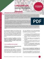 Résumé - Contribution Générale de Maintenant la Gauche - 2015