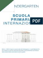 scuola primaria internazionale
