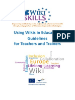WikiSkills Guidelines for Teachers and Trainers En
