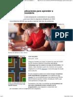 videojuegos y aplicaciones para aprender a programar en secundaria - rtve es