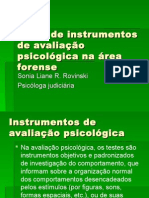 Instrumentos de Avaliação Psicológica Forense