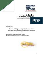 Informe Final Proceso de Mapeo de Experiencias de Actores Relevantes de ES-3