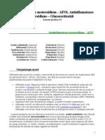 Lucrare practica 14 - Antiinflamatoare nesteroidiene - AINS.doc; Antinflamatoare steroidiene - Glucocorticoizii.doc