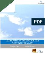 Etxebizitza eskubidea eta kooperatibak (III)