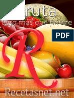 Fruta Algo Mas Que Postre RECETASNET