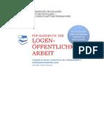 Handbuch Der Freimaurer-Logen-Öffentlichkeitsarbeit