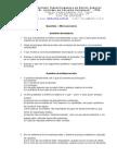 Trabalho - Microeconomia (1º Bimestre)