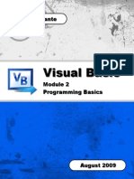 vb module 2 - programming basics