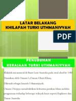 KHILAFAH TURKI UTHMANIYYAH 1