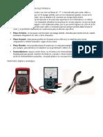 Herramientas de Técnico en Electrónica