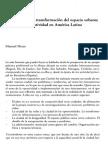 Instrumentos de Transformación Del Espacio Urbano. Manuel Herce