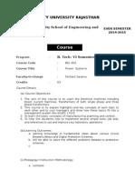 Course Handout PSII