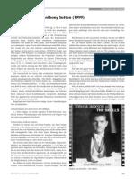 Sutton, Antony C. - Ein Interview Im Jahr 1999 - Der Europaer Jhrg. 4 - Nr. 11 - September 2000
