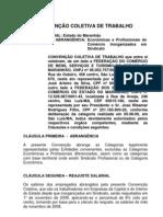 CONVENÇÃO FECOMERCIO E SINCOMERCIARIOS 2009 2010