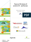 Razvoj Windows 8 poslovnih  aplikacija