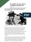 Print Matemática Melhor Do Que Críticos a Identificar Filmes Memoráveis - PÚBLICO