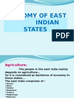 Economy of East Indian States