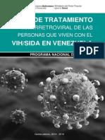 GUIA de Tratamiento VIH SIDA en Venezuela_2014-2016