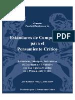 EstanDares Pensamien to Critico