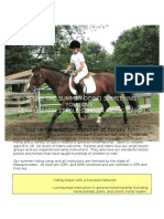 Summer 2010 Riding Camp Flyer[1]