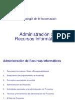 Administracion de Recursos Informaticos