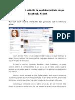 Setari de Confidentialitate Facebook
