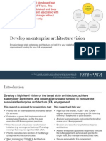 Develop an Enterprise Architecture Vision