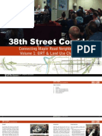 38th St. Corridor 2013 - Charrette Report