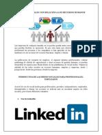 Las Redes Sociales Con Relación a Los Recursos Humanos