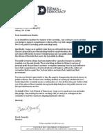 Ny Speaker Letters