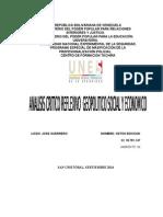 Analisis Reflexivo Geopolitico Social y Economico