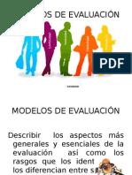 Expos.modelos de Evaluación.