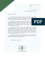 Carta Comunicado Alcalde de Huevar