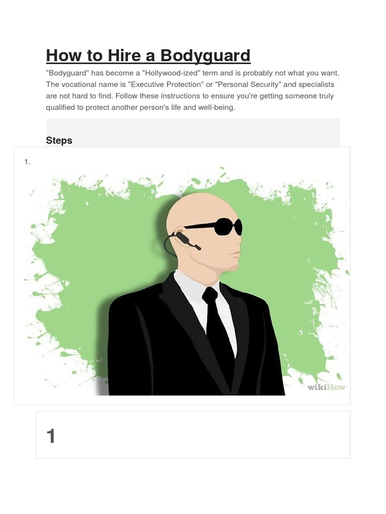How to Hire a Bodyguard.docx   Bodyguard   Naval Criminal Investigative  Service