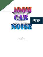 Boom Car Noise