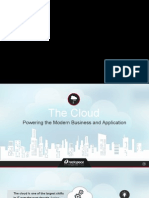 Rackspace the Cloud Powering the Modern Business and Application Presentation (1)